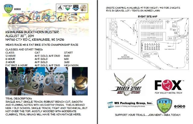 Kewaunee Buckthorn Buster Info